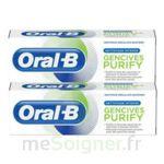 Acheter Oral B Gencives Purify Dentifrice 2*T/75ml à CHENÔVE