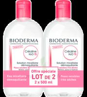 Crealine Ts H2o Solution Micellaire Sans Parfum Nettoyante Apaisante 2fl/500ml à CHENÔVE
