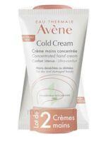 Avène Eau Thermale Cold Cream Duo Crème Mains 2x50ml à CHENÔVE