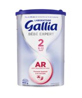 Gallia Bebe Expert Ar 2 Lait En Poudre B/800g à CHENÔVE