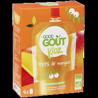 Good Goût Alimentation infantile mangue 4 Gourdes/90g à CHENÔVE