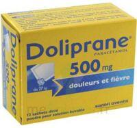 DOLIPRANE 500 mg Poudre pour solution buvable en sachet-dose B/12 à CHENÔVE