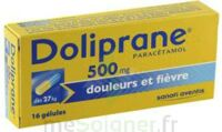 DOLIPRANE 500 mg Gélules B/16 à CHENÔVE
