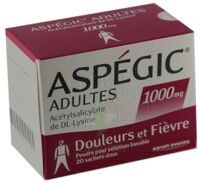 Aspegic Adultes 1000 Mg, Poudre Pour Solution Buvable En Sachet-dose 15 à CHENÔVE