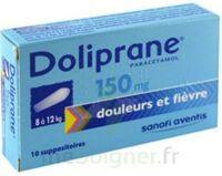 DOLIPRANE 150 mg Suppositoires 2Plq/5 (10) à CHENÔVE