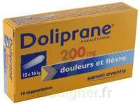 DOLIPRANE 200 mg Suppositoires 2Plq/5 (10) à CHENÔVE