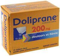Doliprane 200 Mg Poudre Pour Solution Buvable En Sachet-dose B/12 à CHENÔVE
