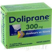 DOLIPRANE 300 mg Poudre pour solution buvable en sachet-dose B/12 à CHENÔVE