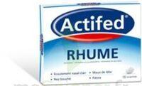 ACTIFED RHUME, comprimé à CHENÔVE
