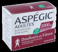 Aspegic Adultes 1000 Mg, Poudre Pour Solution Buvable En Sachet-dose 30 à CHENÔVE