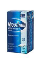 NICOTINELL MENTHE FRAICHEUR 4 mg SANS SUCRE, gomme à mâcher médicamenteuse 8Plq/12 à CHENÔVE