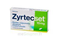 ZYRTECSET 10 mg, comprimé pelliculé sécable à CHENÔVE