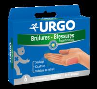 Urgo Brulures-blessures Petit Format X 6 à CHENÔVE