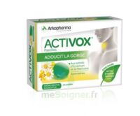Acheter Activox sans sucre Pastilles menthe eucalyptus B/24 à CHENÔVE
