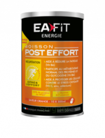 Eafit Energie Poudre Pour Boisson Orange Post-effort Pot/457g à CHENÔVE
