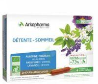 Arkofluide Bio Ultraextract Solution Buvable Détente Sommeil 20 Ampoules/10ml à CHENÔVE