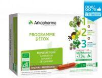 Arkofluide Bio Ultraextract Coffret programme détox 3x10 Ampoules/10ml à CHENÔVE