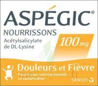 Aspegic Nourrissons 100 Mg, Poudre Pour Solution Buvable En Sachet-dose à CHENÔVE
