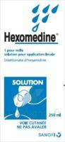 Hexomedine 1 Pour Mille S Appl Loc Fl/250ml à CHENÔVE