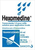 HEXOMEDINE TRANSCUTANEE 1,5 POUR MILLE, solution pour application locale à CHENÔVE
