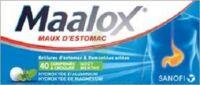 Maalox Hydroxyde D'aluminium/hydroxyde De Magnesium 400 Mg/400 Mg Cpr à Croquer Maux D'estomac Plq/40 à CHENÔVE