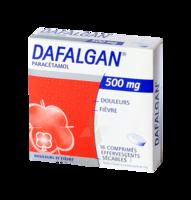 DAFALGAN 500 mg Comprimés effervescents sécables Film/16 à CHENÔVE