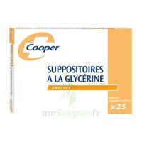 SUPPOSITOIRES A LA GLYCERINE COOPER Suppos en récipient multidose adulte Sach/25 à CHENÔVE