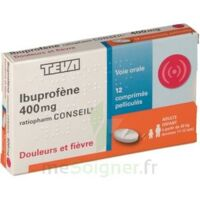 Ibuprofene Teva Conseil 400 Mg, Comprimé Pelliculé à CHENÔVE