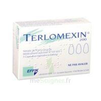 Terlomexin 200 Mg, Capsule Molle Vaginale à CHENÔVE