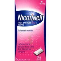 Nicotinell Fruit Exotique 2 Mg, Gomme à Mâcher Médicamenteuse Plq/96 à CHENÔVE