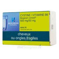 CYSTINE/VITAMINE B6 BIOGARAN CONSEIL 500 mg/50 mg Cpr pell Plq/120 à CHENÔVE