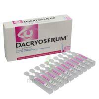 Dacryoserum Solution Pour Lavage Ophtalmique En Récipient Unidose 20unidoses/5ml à CHENÔVE