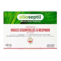 OLIOSEPTIL - Capsules Huiles essentielles à respirer - Nez dégagé à CHENÔVE