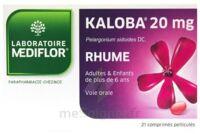 KALOBA 20 mg Cpr pell Plq/21 à CHENÔVE