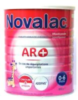 NOVALAC AR + 0-6 MOIS Lait pdre B/800g à CHENÔVE
