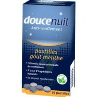 DOUCENUIT ANTIRONFLEMENT PASTILLES à la menthe, bt 16 à CHENÔVE