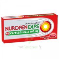 Nurofencaps 400 Mg Caps Molle Plq/10 à CHENÔVE