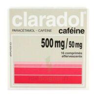 Claradol Cafeine 500 Mg/50 Mg, Comprimé Effervescent à CHENÔVE