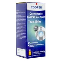 OXOMEMAZINE H3 SANTE 0,33 mg/ml SANS SUCRE, solution buvable édulcorée à l'acésulfame potassique à CHENÔVE