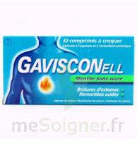 GAVISCONELL Coprimés à croquer sans sucre menthe édulcoré à l'aspartam et à l'acésulfame potas Plq/24 à CHENÔVE