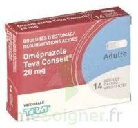 OMEPRAZOLE TEVA CONSEIL 20 mg Gél gastro-rés Plq/14 à CHENÔVE