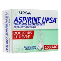 Aspirine Upsa Tamponnee Effervescente 1000 Mg, Comprimé Effervescent à CHENÔVE