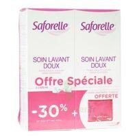 Saforelle Solution soin lavant doux 2*500ml+pochette à CHENÔVE