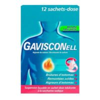 GAVISCONELL Suspension buvable sachet-dose menthe sans sucre 12Sach/10ml à CHENÔVE