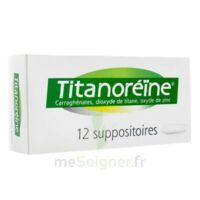 TITANOREINE Suppositoires B/12 à CHENÔVE