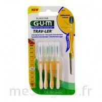 GUM TRAV - LER, 1,3 mm, manche jaune , blister 4 à CHENÔVE
