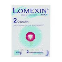 LOMEXIN 600 mg Caps molle vaginale Plq/2 à CHENÔVE