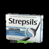 Strepsils Lidocaïne Pastilles Plq/24 à CHENÔVE