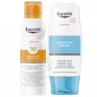 Eucerin Sun Sensitive Protect SPF50 Coffret brume à CHENÔVE