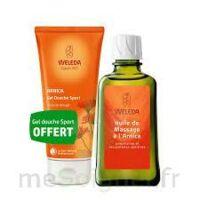 Weleda huile de massage arnica 200ml  + Gel douche OFFERT à CHENÔVE